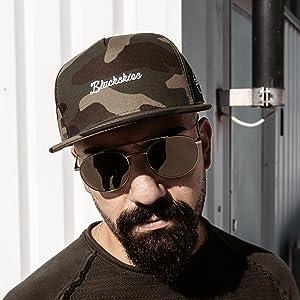 Blackskies Premium Baseball Hats Caps Snapback Camo Flat Men Women