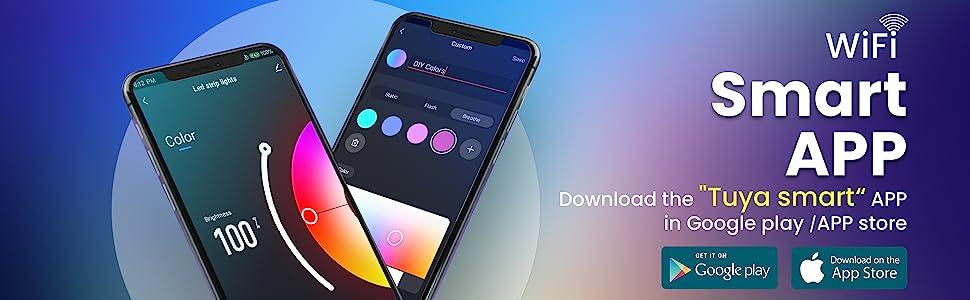 Download-tuyasmart-app-for-led-strip-lights