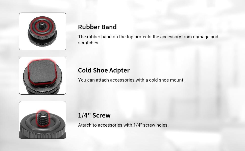 cold shoe adapter 1631
