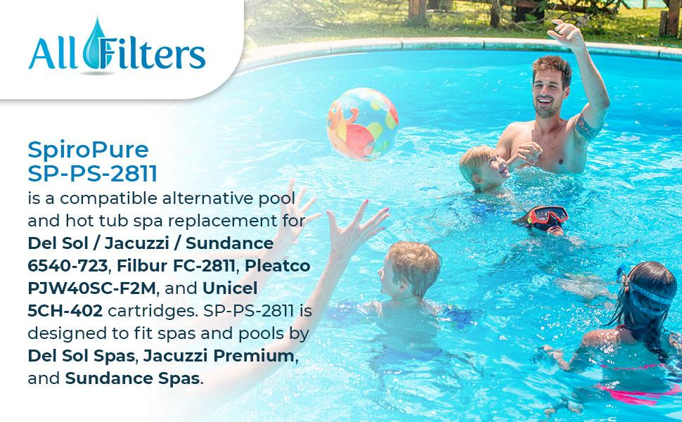 SP-PS-2811 Pool amp; Spa Filters