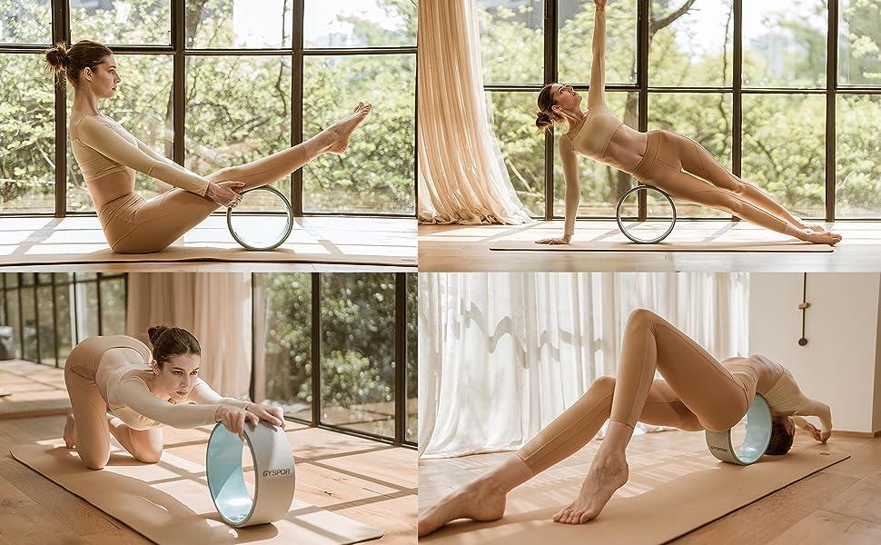 yoga wheel 3 pack