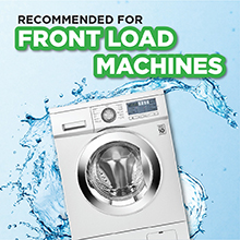 persil, low suds, powder detergent, front load