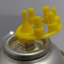 kofy refil nozzle gas can attached