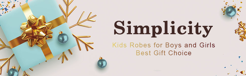 kids robes for boys and girls