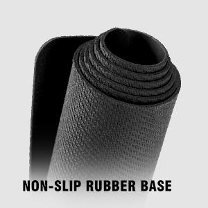 non-slip rubber base