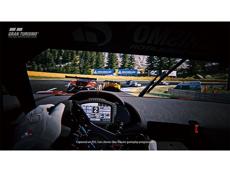 Screenshot inside car