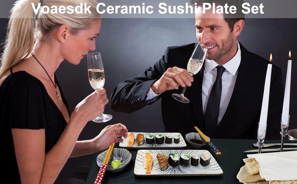 Sushi Dinnerware Set
