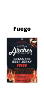 Fuego Beef Jerky by Country Archer