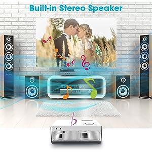 Built-in Dual Stereo Speakers