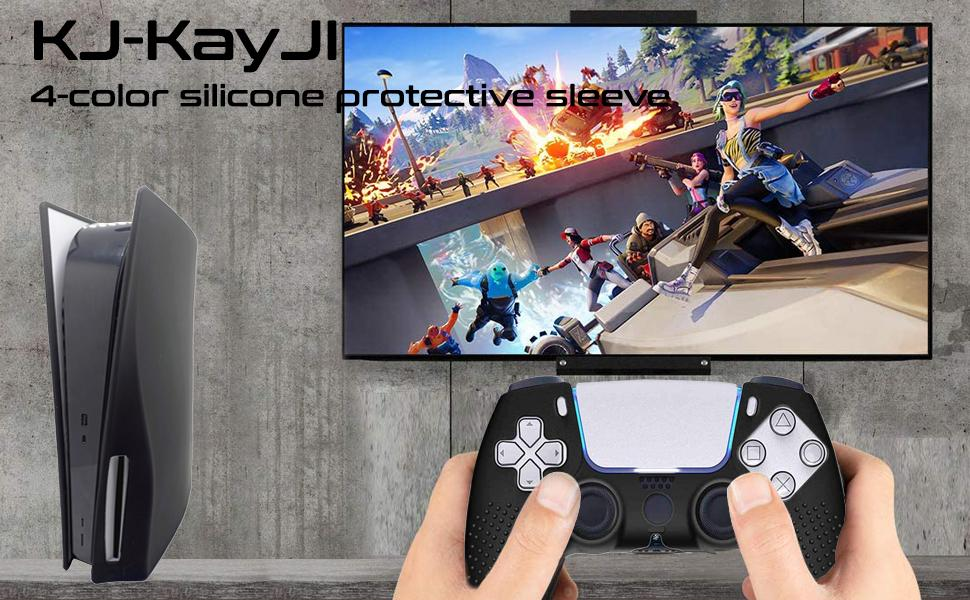 PS5 Silicone Skin Cover  PS5 Console Cover PlayStation 5 Console Case PS5 Silicone Case