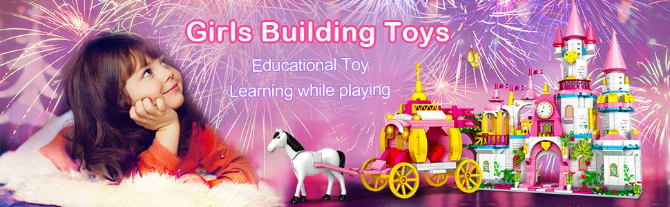 Dream Castle Building Toys for Girls age 5 6 7 8 9 10 11 12 year old
