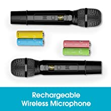 Rechargeable Wireless Microphone