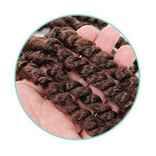 Pretwisted Passion Twist Hair,spring twist hair,crochet braids,crochet hair,pre looped fulcrum hair