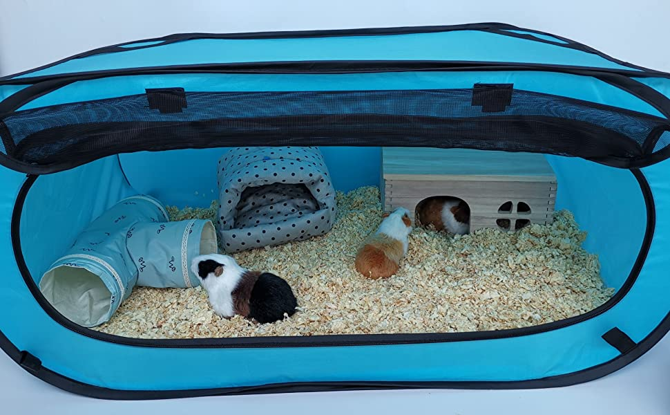 small animals playpen guinea pigs cage