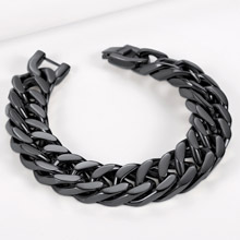 Chunky and thick chain link