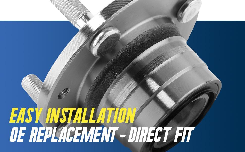 easy installation wheel hubs bearing hub and bearing