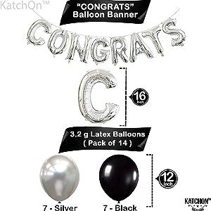 Congrats Grad Party Balloons
