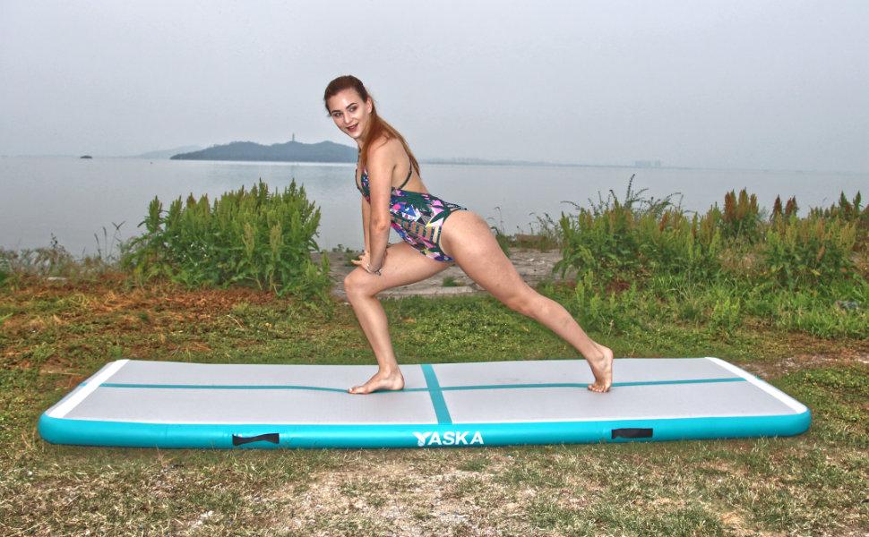 air tumbling mat