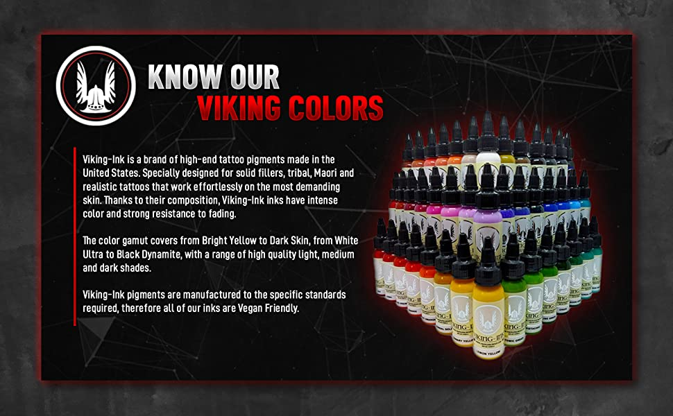Tattoo Ink Colors