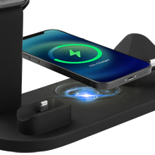 4 in 1 wireless charger station for apple products