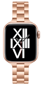 Rose Gold Stainless Steel Band