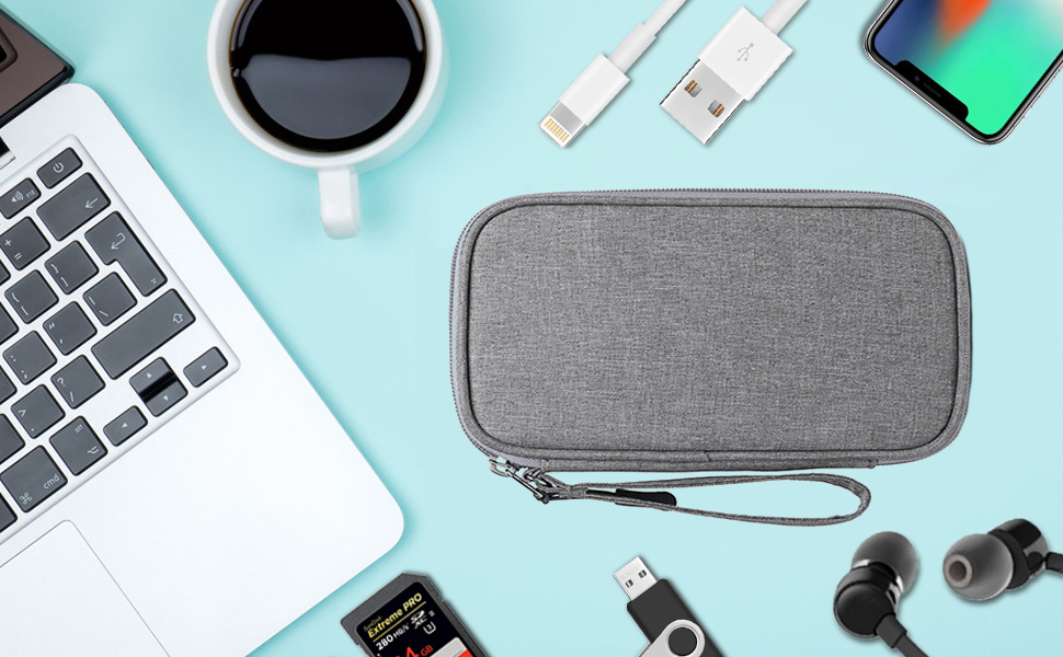 Electronic Organizer Travel Universal Portable Accessories Storage Bag