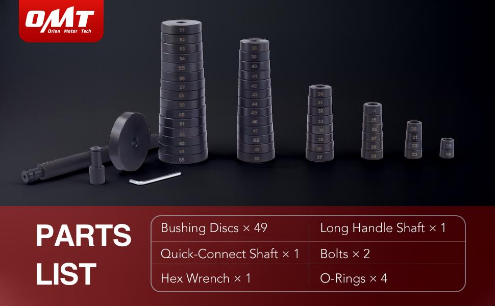 Bearing Press Tool Kit