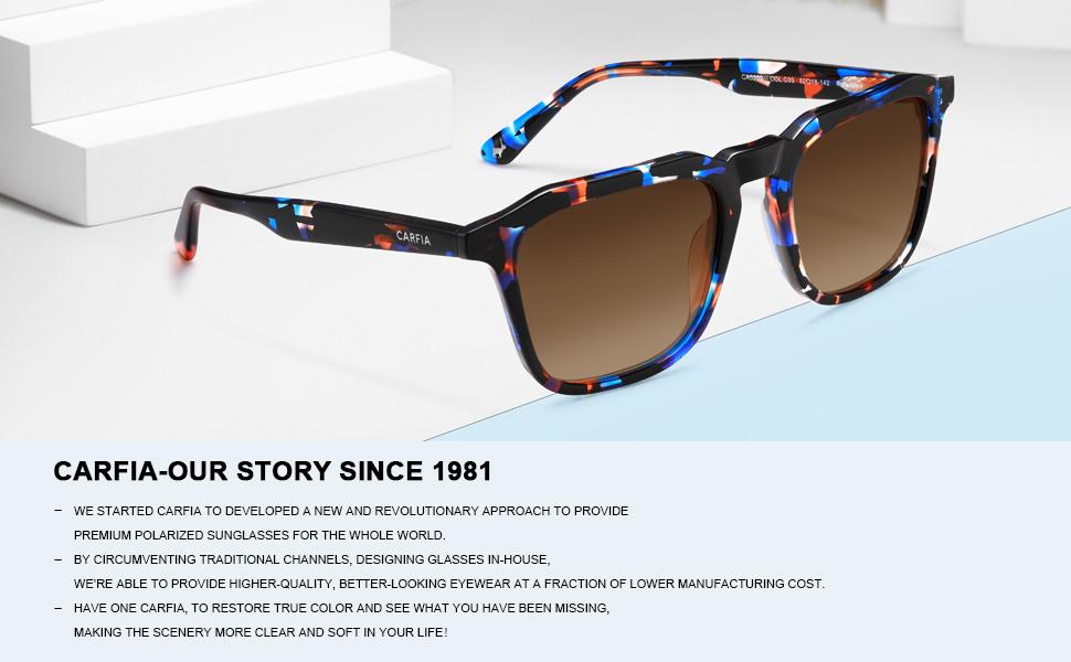 polarized sunglasses square frame