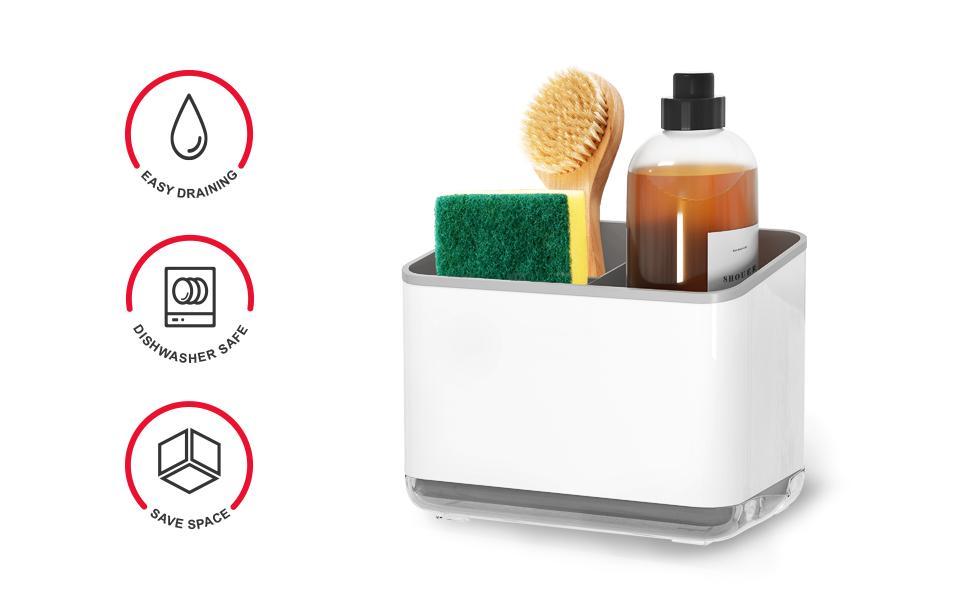 Compatible avec le lave-vaisselle rangement eponge
