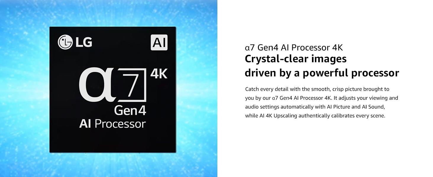 a7 gen4 ai processor 4k