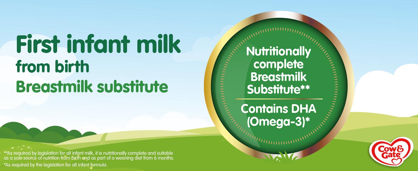 Nutritionally Complete Breastmilk Substitute