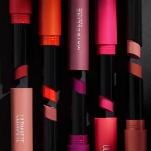 Loreal make-up, maybelline make-up, maybelline lippenstift