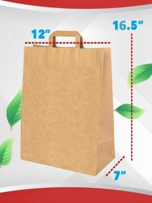 kraft paper bag with handle