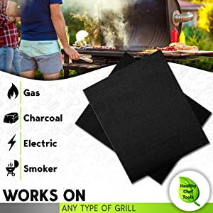 works on any type of grill man grilling