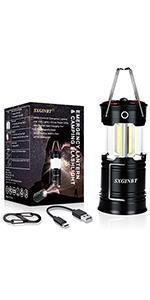 camping lantern with usb port