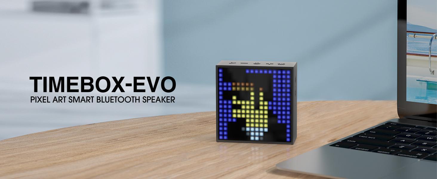 Divoom EVO Pixel Art Bluetooth Speaker