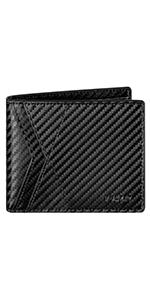 VULKIT men leather wallet