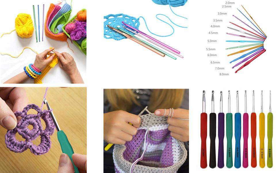 Katech Crochet Needle Kit