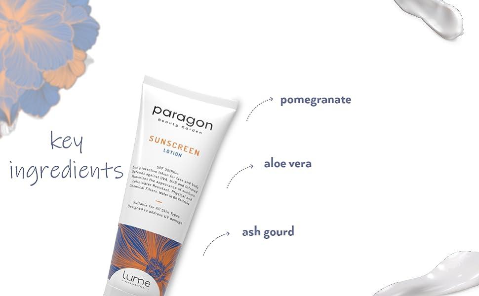 Lume sunscreen lotion
