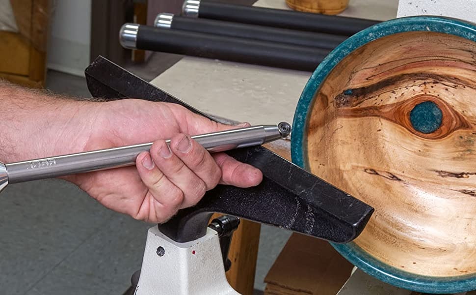 Simple Woodturning Tools Simple Shear Cutting Finisher for Resin, Epoxy, Acrylic or Wood Turning