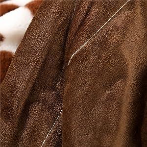 double sided velvet soft blanket