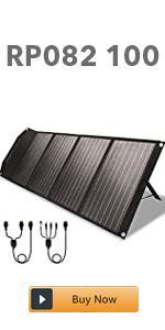 new 100w solar panel
