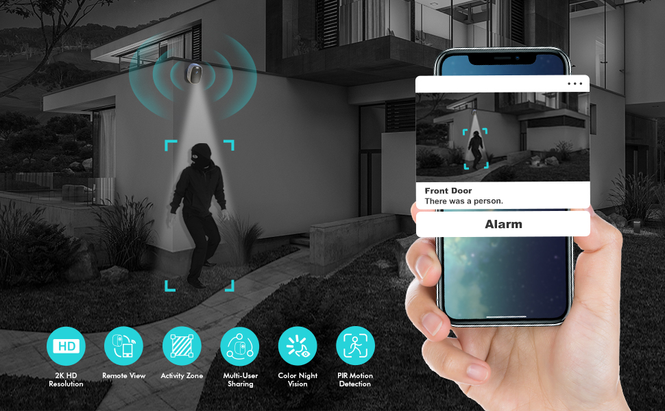 Upgraded AI Motion Detection