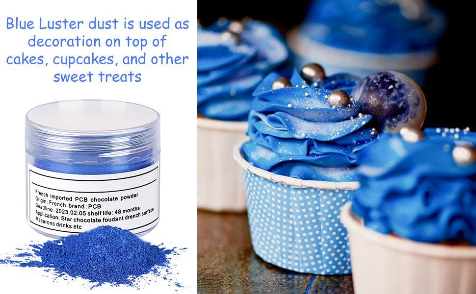 edible blue paint