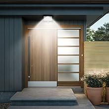 Solar porch light, Solar door light, Solar garden light, solar wall lamp
