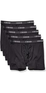 IZOD Men's 5 Pack Performance Boxer Brief