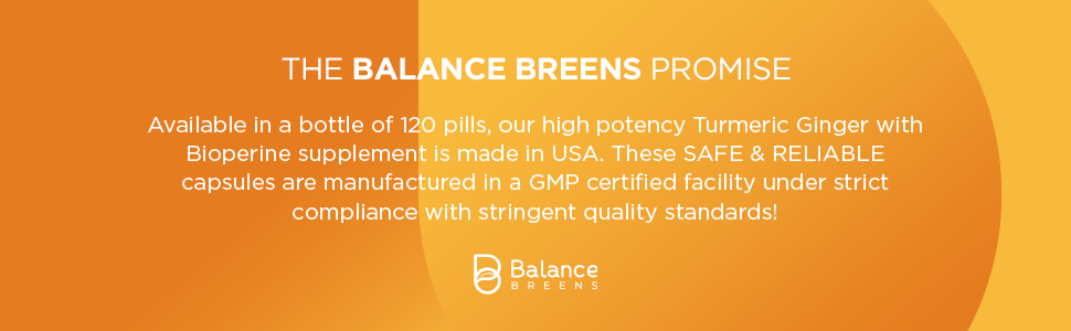 balance breens, safe, reliable, quality, gmp, made in USA, supplement