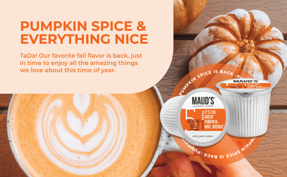 Pumpkin Spice Coffee Pods