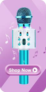 Mircophone Karaoké sans Fil