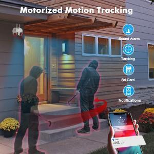 Motorized Motion Tracking